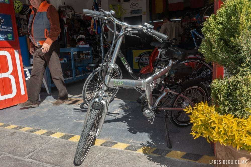 An EcoMobile bike for sale.