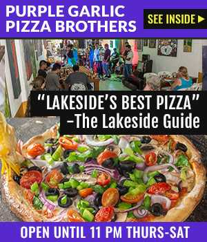 Purple Garlic Pizza Brothers: Real Italian cheese, tomatoes & yeast plus local ingredients.